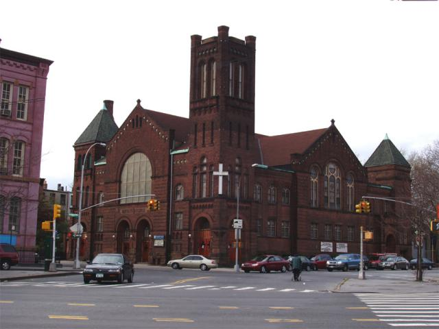 Baptist Temple in Brooklyn. Image 1