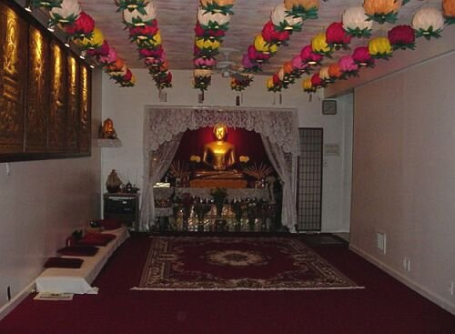 Buddhist Vihara in Port Richmond, Staten Island. Image 1