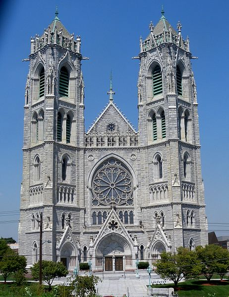 Cathedral Basilica of the Sacred Heart, Newark, NJ. Image 1