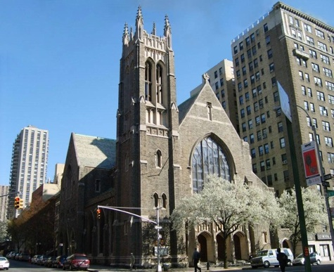 Central Baptist Church of New York. Image 1