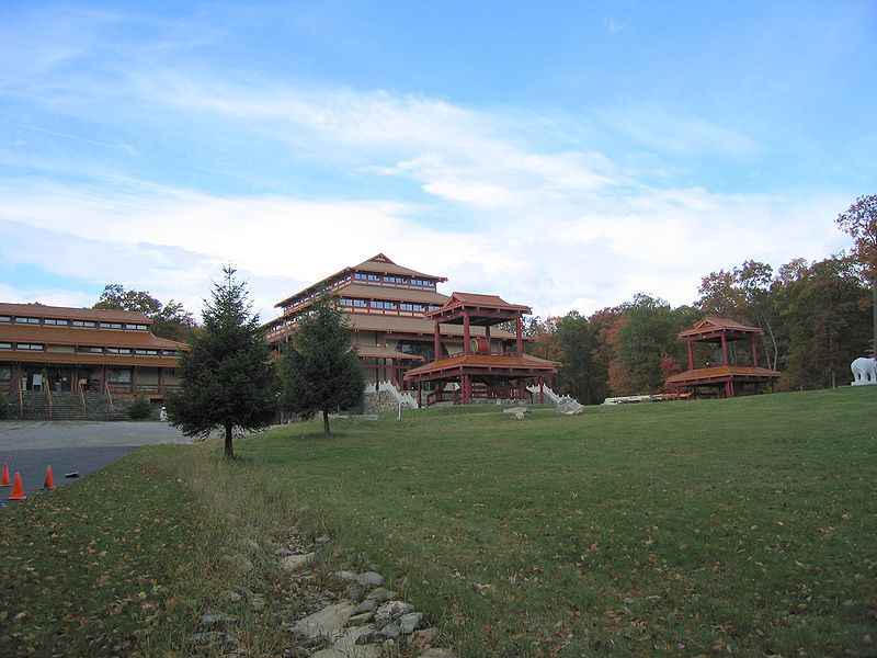 Chuang Yen buddhist monastery in Carmel, NY. Photo 1