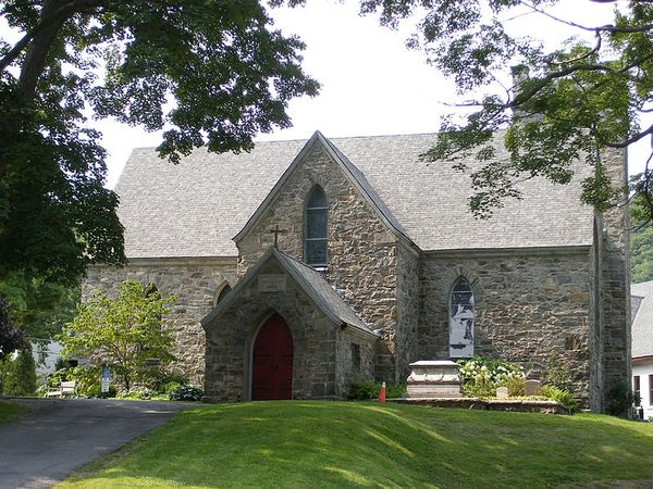 Church of the Holy Innocents in Highland Falls, NY. Photo 1