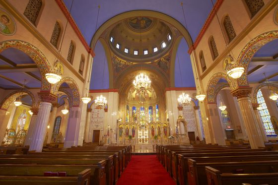 Greek Orthodox Archdiocesan Cathedral of the Holy Trinity, Manhattan. Image 2
