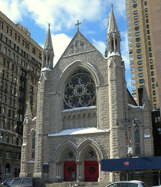 Holy Trinity Lutheran Church in Manhattan. Image 1