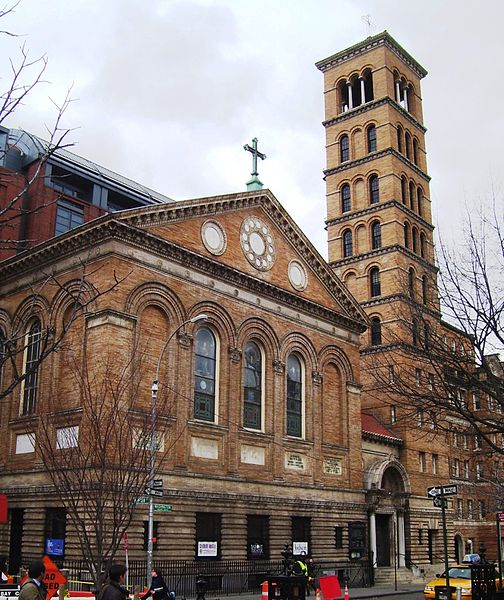 Judson Memorial Church, Manhattan. Photo 1