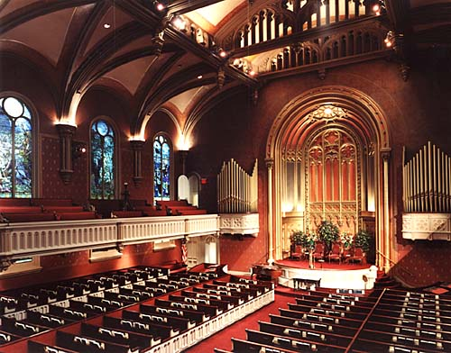 Marble Collegiate Church, Manhattan. Image 2