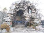 Our Lady of Lourdes Grotto, The Bronx. Image 1: via forgotten-ny.com
