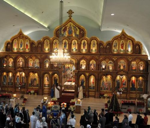 Russian Orthodox Church of Three Saints in Garfield, NJ. Image 2