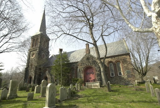 St. Andrew's Church in Richmondtown, Staten Island. Image 1