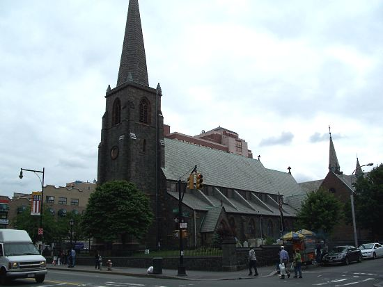 St. George's Church in Flushing, Queens. Image 1