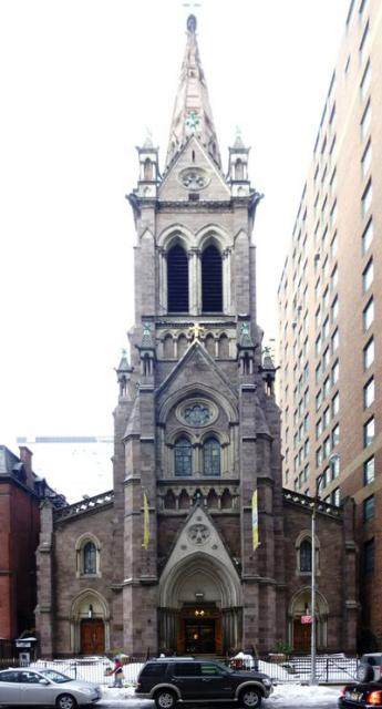St. John the Baptist Church and Convent, Manhattan. Image 1
