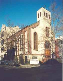St. John's Lutheran Church in Hoboken, NJ. Image 1
