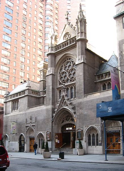 St. Malachy's Roman Catholic Church, Manhattan. Photo 1