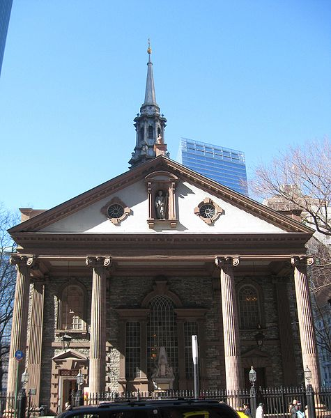 St. Paul's Chapel, Manhattan. Photo 1