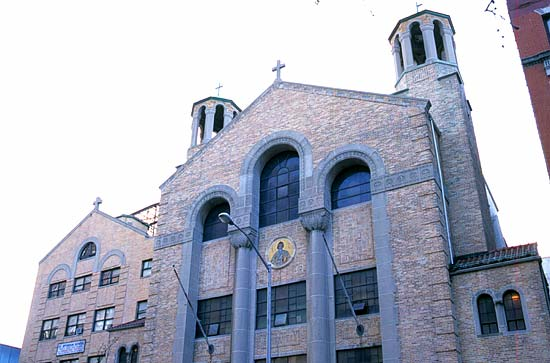 St. Spyridon Greek Orthodox Church, Manhattan. Photo 1