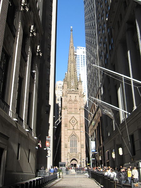 Trinity Church in Manhattan. Image 1