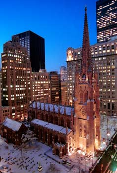 Trinity Church in Manhattan. Image 2