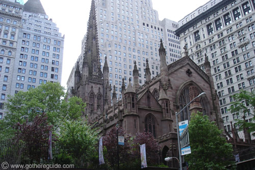 Trinity Church in Manhattan. Image 3