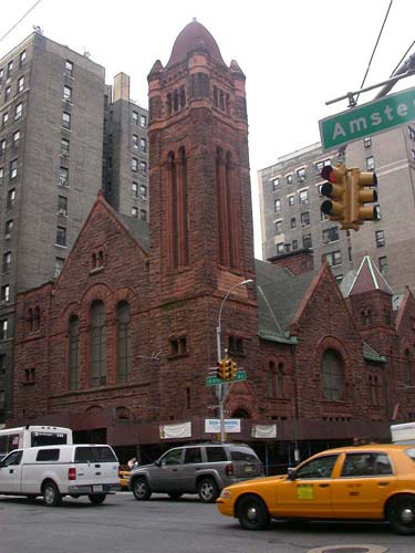 West-Park Presbyterian Church, Manhattan. Photo 1